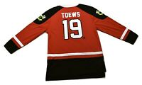 NHLPA Mens NHL Chicago Blackhawks Johnathan Toews Hockey Jersey NWT S,M,L,XL,2XL