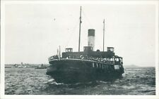 Postcard shipping Mersey  Ferry Marlowe Friends of the Ferries card unposted
