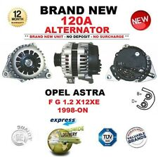 Para Opel Astra F G 1.2 X12XE 1998-ON 120A Nuevo en Caja Alternador ** Calidad OE **