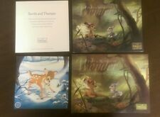 WDCC Disney Bambi and Thumper 2004 Membership Guide,  Lithograph, & Catalog Mint