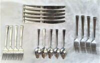 Wallace WAS223 Stainless Steel Silverware 18 pieces FAST SHIPPING