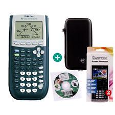 TI 84 Plus Taschenrechner Grafikrechner + Schutztasche Schutzfolie Lern-CD