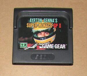 Super Monaco GP II for Sega Game Gear Fast Shipping Authentic