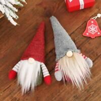 HOT Faceless Gnome Santa Doll Xmas Tree Hanging Ornaments Christmas Decorations