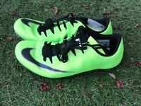 Nike Zoom Superfly Elite Mens Sz 7 Track Spikes Neon Green Black 835996-300