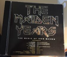 The Maiden Years Tribute by Various Artists (CD, Jul-2007, Aaom) IRON MAIDEN