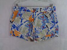 Gap Women's Multi Color Floral Tropical Shorts Size 8 NWT
