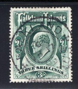 1904-12 Falkland Isl. SG#28a. SG#49. Used, VF.