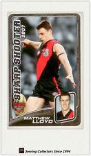 2008 AFL Herald Sun Trading Cards Sharp Shooters SS5: M. Lloyd (Essendon)