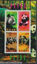 Malawi 2010 MNH SS, Panda, Wild Animals (H60)