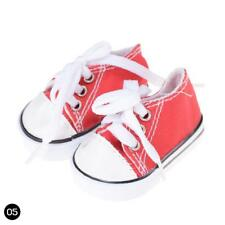 1Pair Doll Canvas Shoes Fits 18 Inch Toy  Other 18 Inch Doll #n