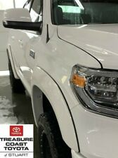 NEW TOYOTA TUNDRA 2014-2019 SUPER WHITE PAINT CODE 040 FENDER FLARES 4 PIECE SET