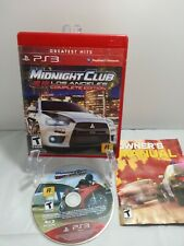 PS3 Midnight Club: Los Angeles Complete Edition Greatest Hits Complete w/Manual