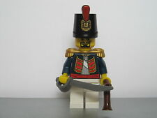 Lego PIRATES NAPOLEONIC WARS SPANISH Infantry Officer MINIFIG