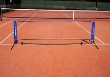 NEW HOT SHOTS STYLE PORTABLE TENNIS MINI NET & FRAME FOR AGE 2-8 YRS (3 M WIDE)