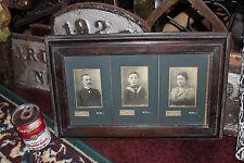 Antique German Jewish Photographs-Family-3 Photos-Adria Muterem-Burg J-Debreczen