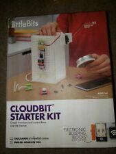 LittleBits Cloudbit Starter Kit 14+ Stem Learning Internet Technology New