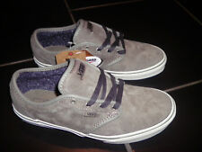 VANS Atwood Canvas Fashion Skater Shoes Pumps / Trainers GREY Size 6 uk.