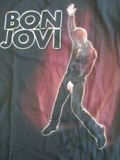Bon Jovi 2010 Summer Meadowlands Stadium Concert Tour Unisex Med Black T Shirt