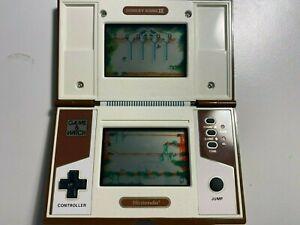 """Nintendo GAME & WATCH - """"Donkey Kong II"""" - Multiscreen - 1983"""