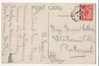St Davids Pembrokeshire 1 Jul 1929 Single Ring Postmark 114c