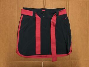 NIKE GOLF 3-in-1 Women: Size 4 Skirt/Shorts Multi Pink