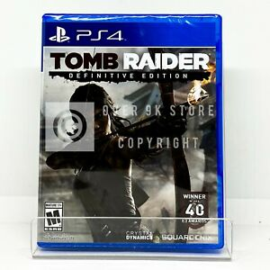 Tomb Raider Definitive Edition - PS4 - Brand New | Factory Sealed