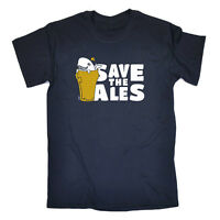 Funny Novelty T-Shirt Mens tee TShirt - Save The Ales