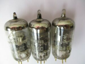 3 x E88CC Siemens/ Telefunken für Röhrenverstärker, geprüfter Zustand