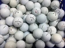 100 Callaway AA Shag / Practice Black Tour Balls Used GOLF BALLS  FREE TEES