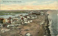 Bird's Eye View Nome Alaska Postcard