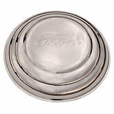 1941 Ford passenger car 1941 1942 pickup Stainless steel Hubcaps set of 4