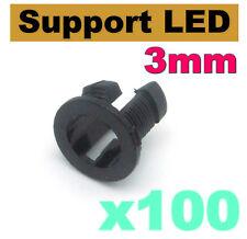 959/100# Support LED 3mm modèle 1 --- 100pcs