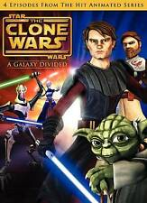 Star Wars: The Clone Wars - A Galaxy Divided -Season 1, Vol. 1, Very Good DVD, I