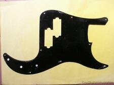 Precision Bass Electric Guitar Pickguard Negro Sólido Cero Placa Pb bbb-d Nuevo