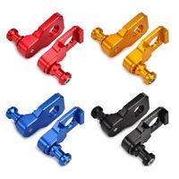 Fit Suzuki GSXR600 GSXR750 CNC Chain Adjuster Axle Block Swingarm Spool Slider