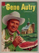 Gene Autry #79 - Sept. 1953 Dell - Photo cover, Yogi Berra Yankees - VG/Fn (5.0)