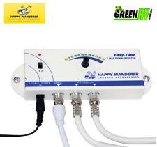 Happy Wanderer Easy-Tune 12V Caravan TV Signal Finder & Amplifier Booster