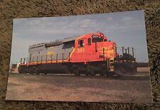 1996 Postcard Unposted Train Quebec North Shore Labrador Rwy SD40-2CLC #301