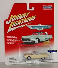 Johnny White Lightning 1962 Ford Thunderbird Convertible 62 Bad T-Bird 1:64 T