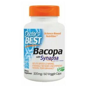 Bacopa 60 Veg Caps 320 mg by Doctors Best