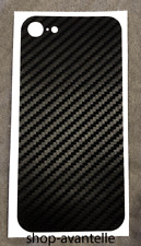 Apple iPhone 8 Decal Skin by Avantelle - Black Carbon Fiber