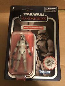 Remnant Stormtrooper Carbonized Graphite Figure VINTAGE Collection Star Wars MOC