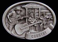 Country Music Scene Belt Buckle New Look! Buckles