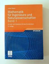 Mathematik für Ingenieure und Naturwissenschaftler 1. Viewegs Fachbücher der Tec