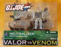 GI JOE Valor Vs Venom NEUTRALIZER TANK W/BACKBLAST! NIP!