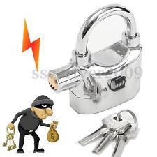 Siren Alarm Lock Security Sound Anti-Theft Motor Bicycle Moped Padlock Bike Door