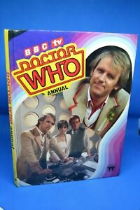 Doctor Who 1984 Annual Signed by Mark Strickson