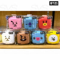 BTS BT21 OfficiaI Authentic Goods MACAROON Pouch + Tracking Number