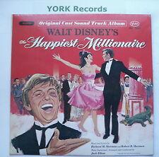 HAPPIEST MILLIONAIRE - Original Film Soundtrack - Ex Con LP Record Buena Vista